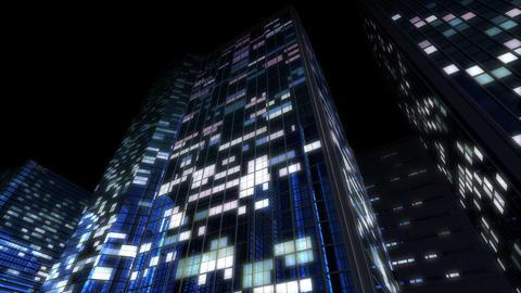 Skyscraper 2 Db2 night2 4k Animation