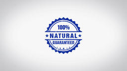 """Natural"" 3D Animated Round Wooden Stamp Animation Animation"