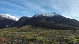Autumn volcanic landscape of Kamchatka Peninsula (time lapse) Footage