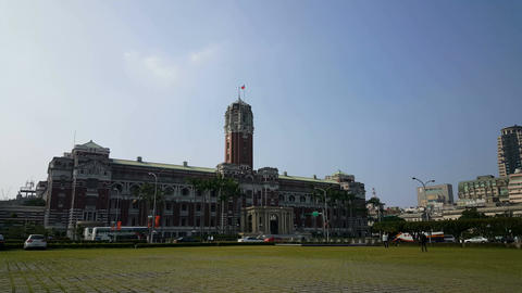 The Presidential Office Building in Taipei Filmmaterial