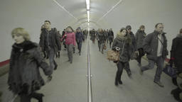 The Crowd In The Subway 2