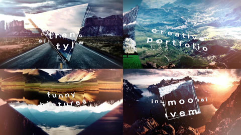 Epic Parallax 2 Slideshow After Effects Template
