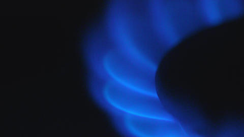 Gas Stove Burning Footage