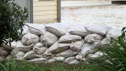 Flooding - Sandbags Footage
