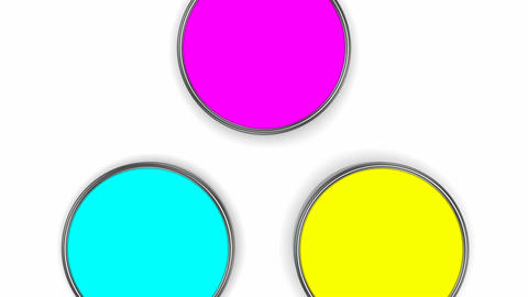Mixing colors (CMYK) Animation