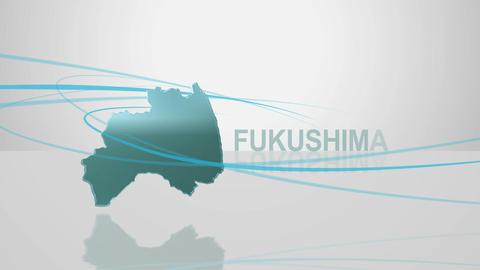 H Dmap c 07 fukushima Stock Video Footage