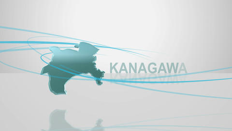 H Dmap c 14 kanagawa Stock Video Footage