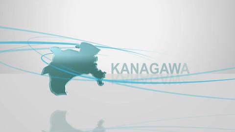 H Dmap c 14 kanagawa Stock Video Footage