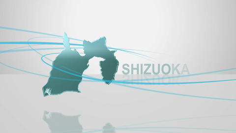 H Dmap c 22 shizuoka Stock Video Footage