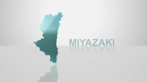 H Dmap c 45 miyazaki Stock Video Footage