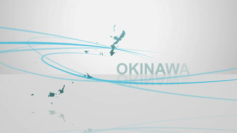 H Dmap c 47 okinawa Stock Video Footage