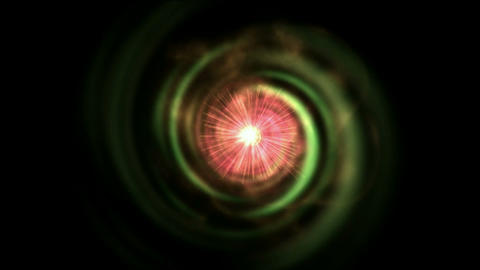 rotation energy rays light and vortex space tunnel... Stock Video Footage