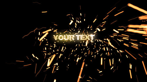 textsparks After Effects Template