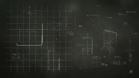 Technology Design Blackboard Stock Video Footage