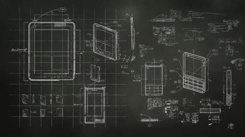 Technology Design Blackboard Animation