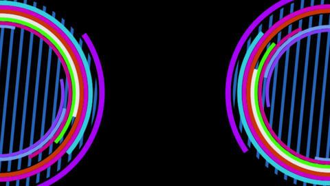 circle 01 3 Stock Video Footage