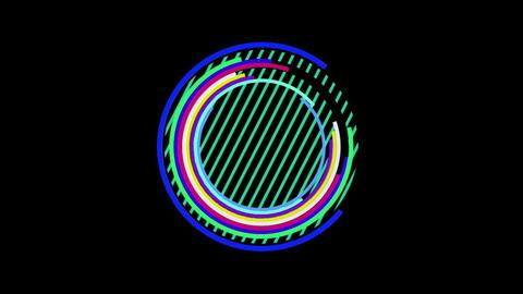 circle 01 Stock Video Footage