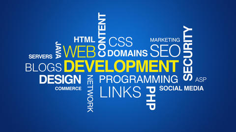 Web Development Text Animation Animation