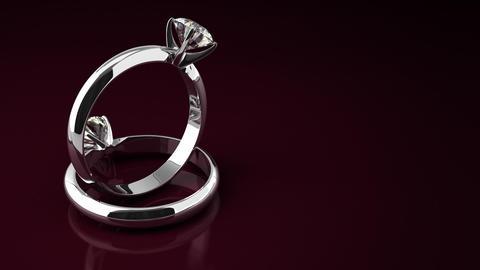 Diamond Rings Stock Video Footage