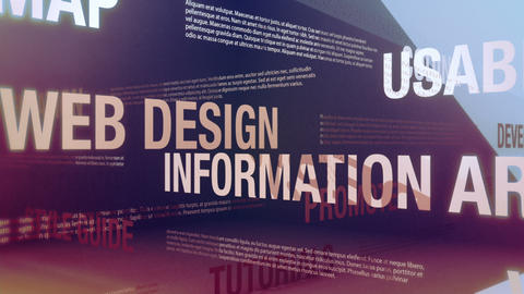 Web Design Related Terms Animation