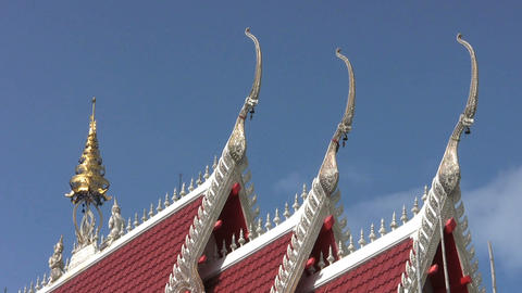 Temple Roof Footage