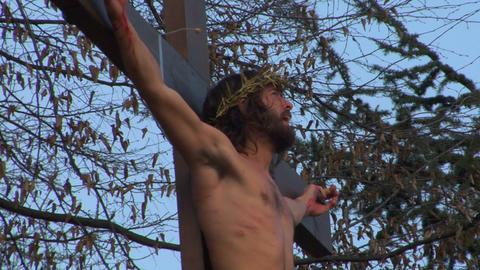 cross christ 04 Stock Video Footage