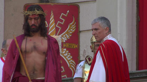 ecce homo 03 Stock Video Footage