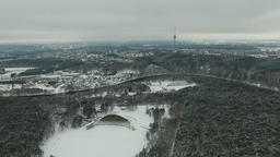 Flight Over Vingis Park, Vilnius 2 Footage