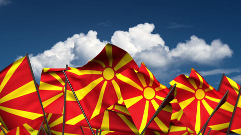 Flag-wave-Macedonia-HD Animation