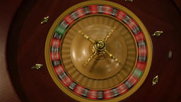 Roulette Wheel Spinning Footage
