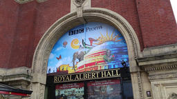 BBC Proms Royal Albert Hall Kensington London UK Footage