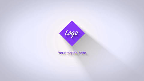 Simple Polygon Logo Reveal After Effects Template