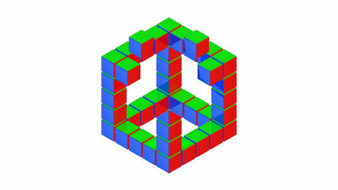 Impossible Cube Animation