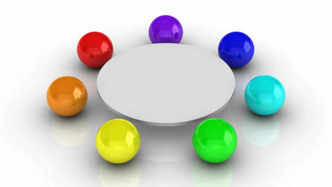 Round table Animation