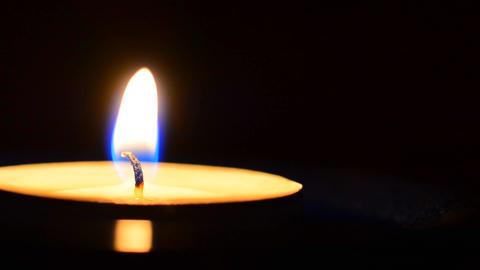 Burning candle Footage