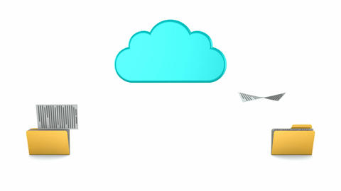 Cloud Computing Animation