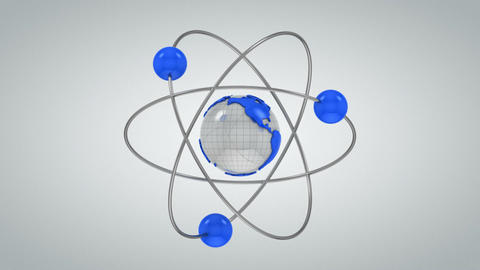 Peace atom Animation