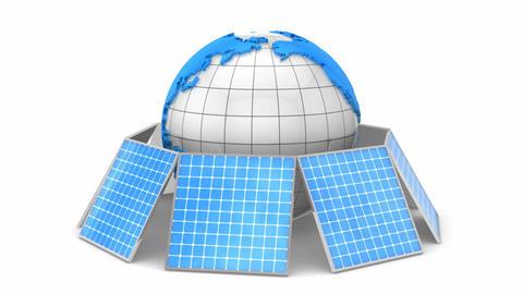 Solar Energy Animation