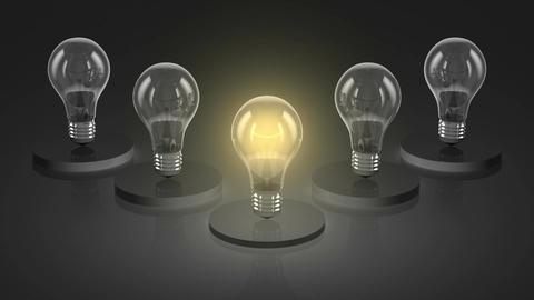 Bulbs Animation