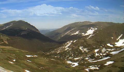 Alpine Mountains timelapse seamless loop Footage