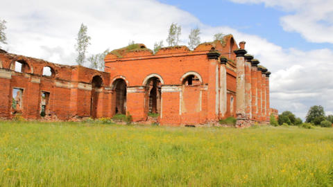 Majestic Ruins of stables and headquarters of hussars of 19th century 1 Live Action