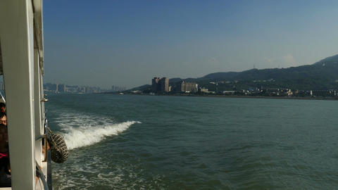 Boat trip from Bali district to Tamsui Live Action