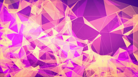 Geometric abstract motion background Animation