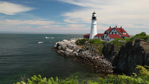 The Portland Headlight Lighthouse Filmmaterial
