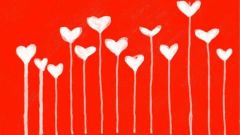 The digital drawing by St. Valentine's Day Animation