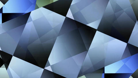 Rotating semitransparent polygonal segments changing colors, video background fo Animation