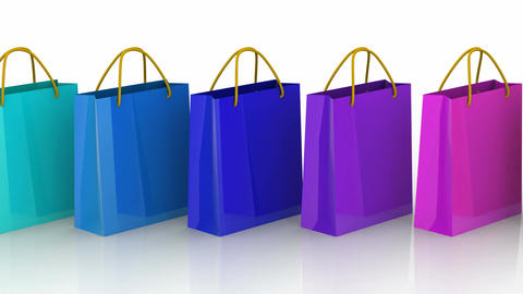 Shopping Bags Animation