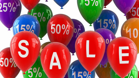 Sale balloons 画像