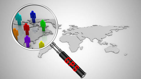 GPS Tracking Animation