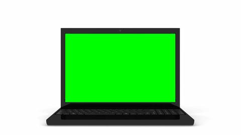 Laptop opening Animation